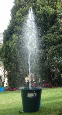 Fountain Tower Spout Example
